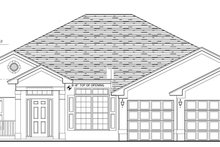 Home Plan - Traditional Exterior - Front Elevation Plan #1058-50