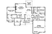 Ranch Style House Plan - 3 Beds 2.5 Baths 2283 Sq/Ft Plan #124-887 Floor Plan - Main Floor Plan