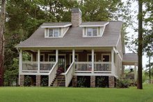 Colonial Exterior - Front Elevation Plan #17-2761