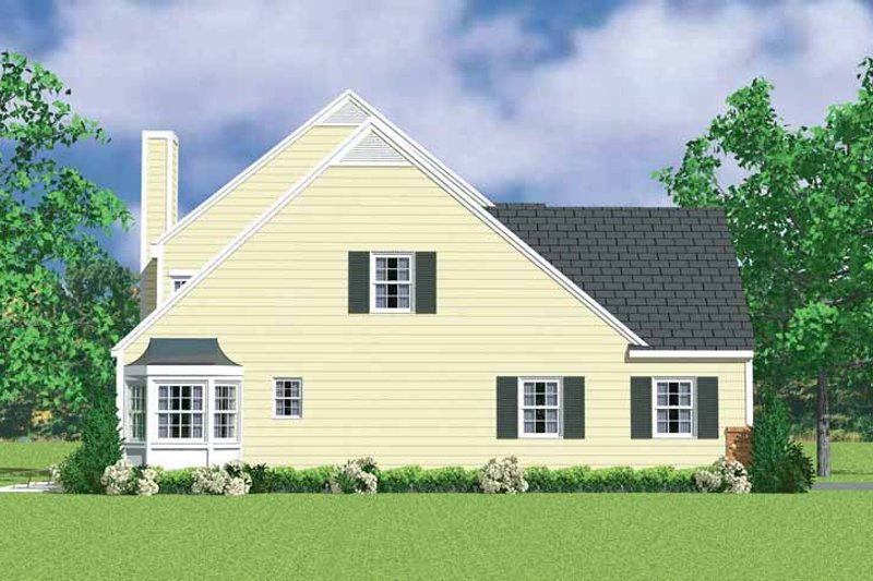 Country Exterior - Other Elevation Plan #72-1121 - Houseplans.com