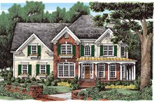 Home Plan - Country Exterior - Front Elevation Plan #927-270