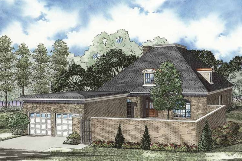 Dream House Plan - Traditional Exterior - Front Elevation Plan #17-3267