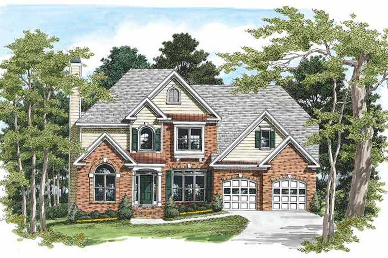 Traditional Exterior - Front Elevation Plan #927-155 - Houseplans.com