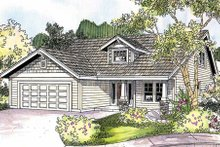 Dream House Plan - Exterior - Front Elevation Plan #124-692