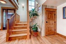 Architectural House Design - Prairie Interior - Entry Plan #1042-18