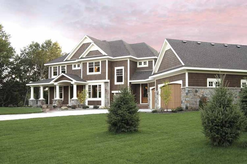 Home Plan - Classical Exterior - Front Elevation Plan #51-657