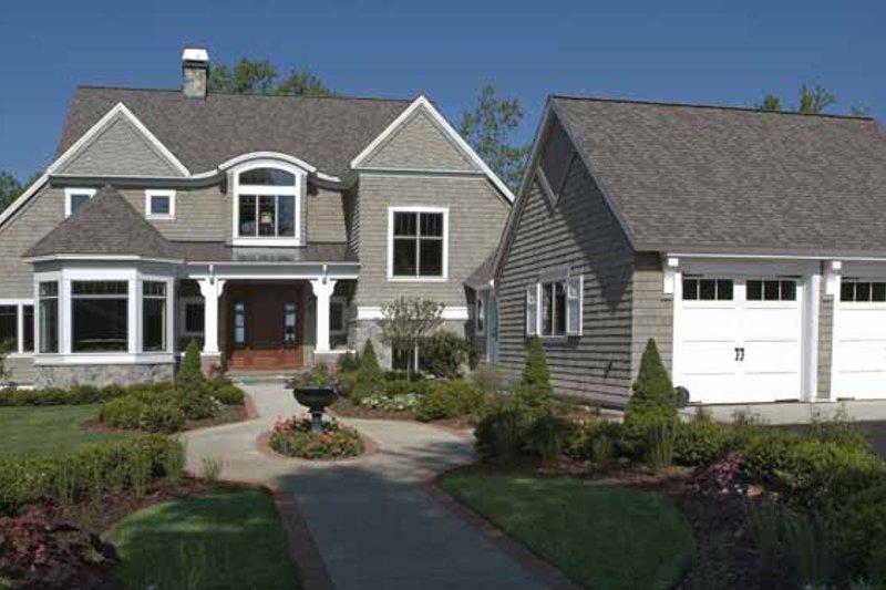 Craftsman Exterior - Front Elevation Plan #928-171