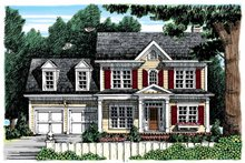 Architectural House Design - Classical Exterior - Front Elevation Plan #927-853