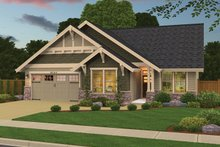 Country Exterior - Front Elevation Plan #943-39