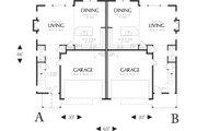 Craftsman Style House Plan - 2 Beds 2.5 Baths 1626 Sq/Ft Plan #48-626