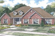 Home Plan - Country Exterior - Front Elevation Plan #17-2916