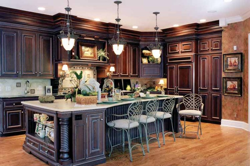 Classical Interior - Kitchen Plan #46-741 - Houseplans.com