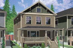 Home Plan - Craftsman Exterior - Front Elevation Plan #303-473