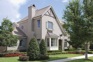Country Exterior - Front Elevation Plan #1019-9