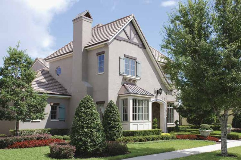 Home Plan - Country Exterior - Front Elevation Plan #1019-9