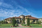European Style House Plan - 4 Beds 4 Baths 6315 Sq/Ft Plan #930-357
