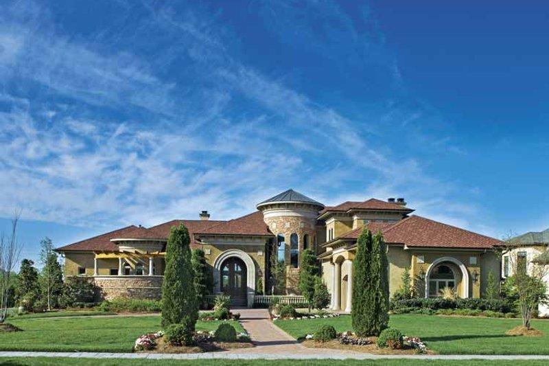Architectural House Design - European Exterior - Front Elevation Plan #930-357