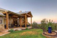 Ranch Exterior - Rear Elevation Plan #935-6