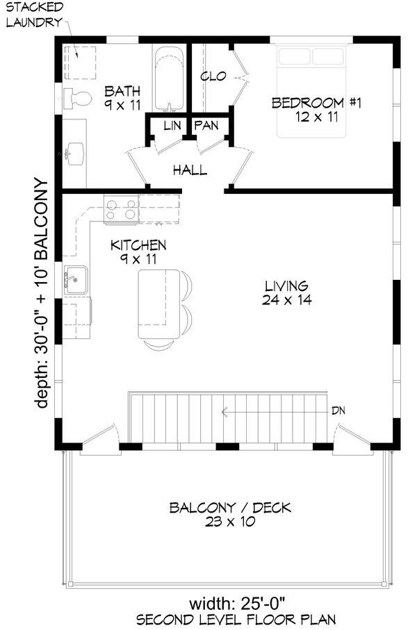 Dream House Plan - Contemporary Floor Plan - Main Floor Plan #932-286