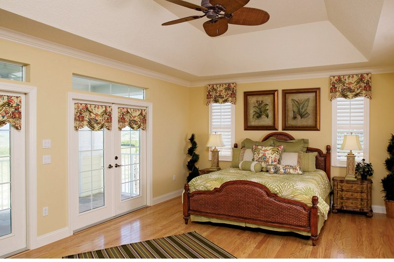 Country Interior - Master Bedroom Plan #929-897 - Houseplans.com