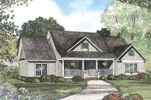 Architectural House Design - Colonial Exterior - Front Elevation Plan #17-2760