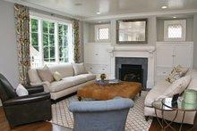 House Plan Design - Tudor Interior - Family Room Plan #928-257
