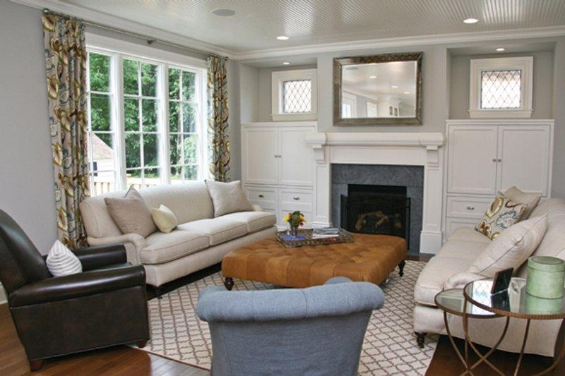 Tudor Interior - Family Room Plan #928-257 - Houseplans.com