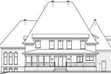 Dream House Plan - European Exterior - Rear Elevation Plan #23-843