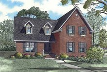 Traditional Exterior - Front Elevation Plan #17-3293