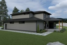 House Plan Design - Contemporary Exterior - Other Elevation Plan #1070-18