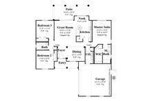 Country Floor Plan - Main Floor Plan Plan #930-362