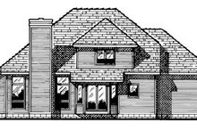 Exterior - Rear Elevation Plan #20-2010