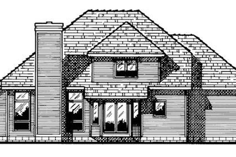 Exterior - Rear Elevation Plan #20-2010 - Houseplans.com