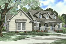 House Design - Country designed house elevation