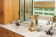 Country Interior - Master Bathroom Plan #929-13