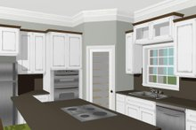 Architectural House Design - Country Interior - Kitchen Plan #44-196