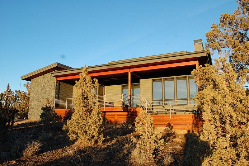 Home Plan - Contemporary Exterior - Rear Elevation Plan #895-27
