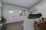 Traditional Style House Plan - 3 Beds 2 Baths 1972 Sq/Ft Plan #1060-45 Interior - Entry