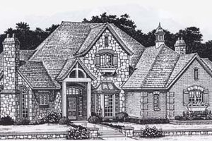 Colonial Exterior - Front Elevation Plan #310-948