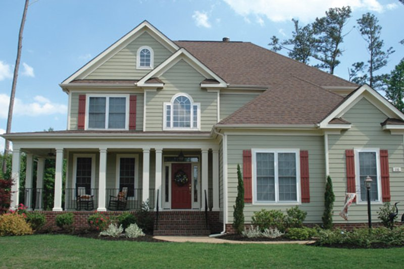 Home Plan - Country Exterior - Front Elevation Plan #927-898