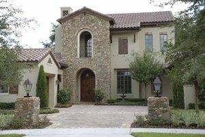 House Design - Mediterranean Exterior - Front Elevation Plan #1019-1