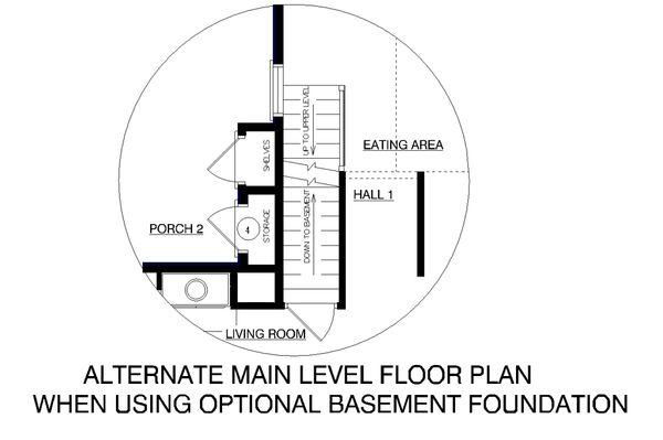 Farmhouse Floor Plan - Other Floor Plan Plan #45-140