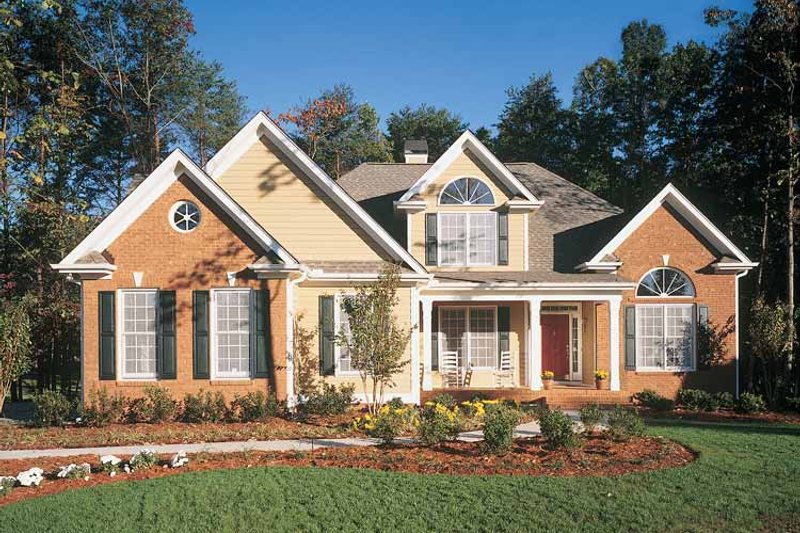 Country Exterior - Front Elevation Plan #929-148 - Houseplans.com