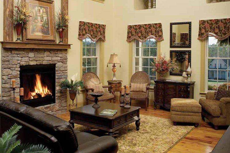Country Interior - Family Room Plan #929-634 - Houseplans.com