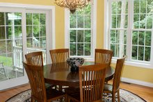 Country Interior - Dining Room Plan #929-700