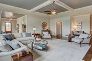 Ranch Style House Plan - 3 Beds 3.5 Baths 2350 Sq/Ft Plan #437-89 Interior - Family Room