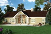 Home Plan - Craftsman Exterior - Rear Elevation Plan #314-289