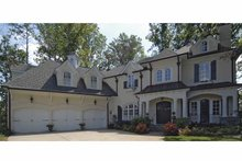 Traditional Exterior - Front Elevation Plan #54-322