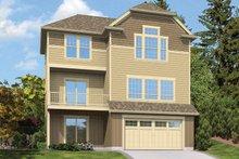 House Plan Design - Traditional Exterior - Rear Elevation Plan #48-910