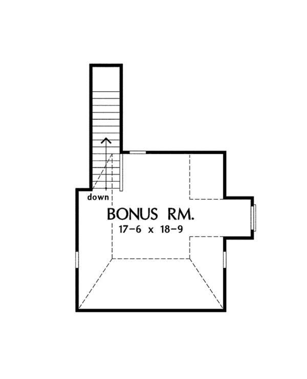 House Plan Design - Traditional Floor Plan - Other Floor Plan #929-963